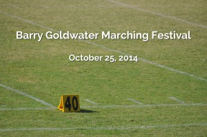 """Barry Goldwater """"Rumblin' Drums in the Dawg House"""" Marching Festival - October25, 2014"""
