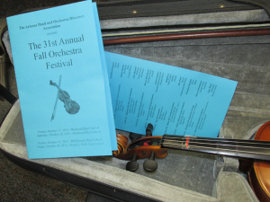 Fall Orchestra Festival - October 18, 2014