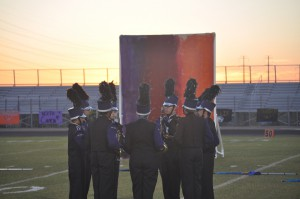 Video - Marching Rattlers at Sierra Linda on October 21, 2014
